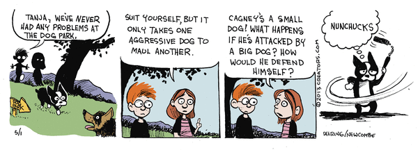Dog Park Comic