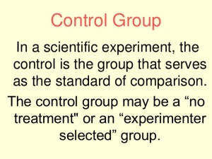 Control Group